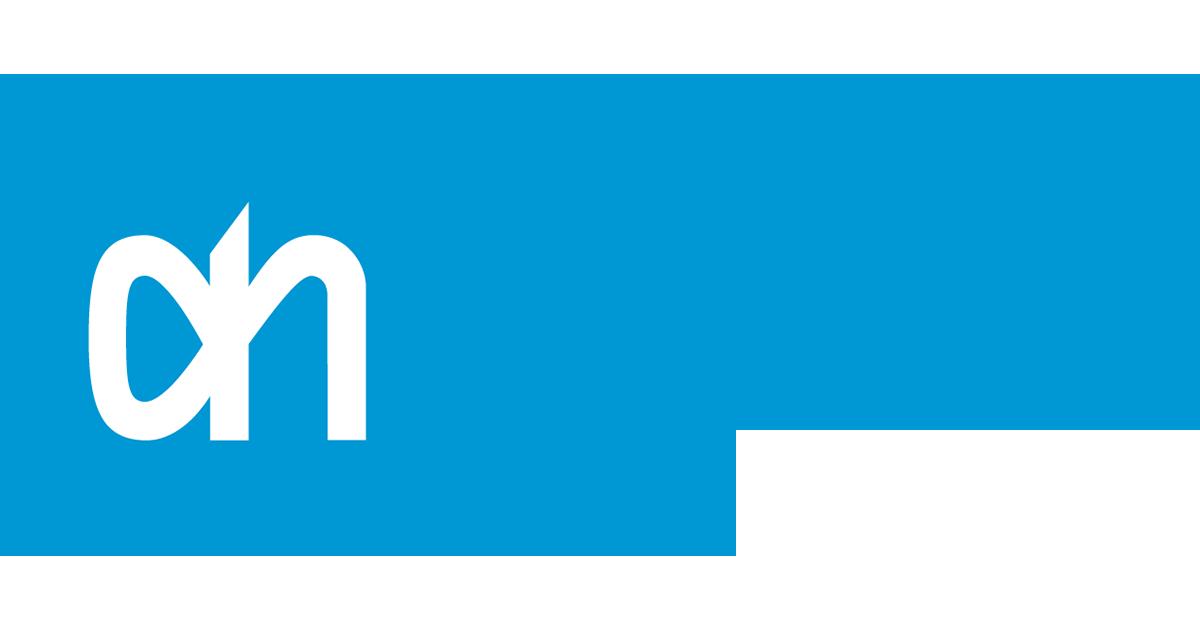Markiezen schoongemaakt van Albert Heijn
